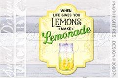 lemonade sublimation designs, mojito png, lemonade label, Product Image 6