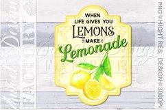 lemonade sublimation designs, mojito png, lemonade label, Product Image 3