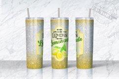 20 oz lemonade tumbler Sublimation designs Product Image 2
