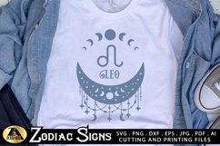 Zodiac Signs SVG Bundle Celestial SVG Astrology Horoscope Product Image 5