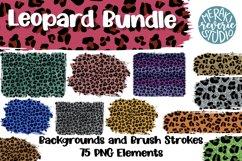Leopard Print Sublimation Bundle with 75 Elements Product Image 1