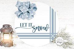 Farmhouse Round Christmas SVG Bundle - Sign Making Bundle Product Image 3