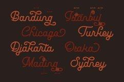 Leuthikline - Beautiful Monoline Font Product Image 2