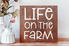 LAUNDRY MONDAY Stylish Farmhouse Font Product Image 2