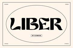 Liber retro font Product Image 1