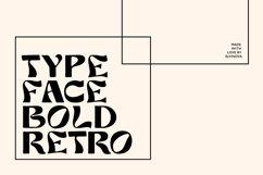 Liber retro font Product Image 4
