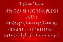 Liberation - Christmas Calligraphy Font Product Image 5