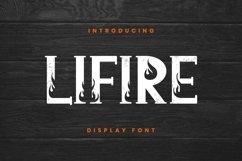 Web Font Lifire Font Product Image 1
