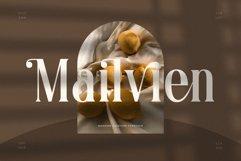 Mailvien - Modern Ligature Typeface Product Image 1