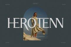 Herotenn - Stylish Ligature Serif Product Image 1