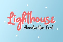 Lighthouse - Handwritten Font Product Image 1