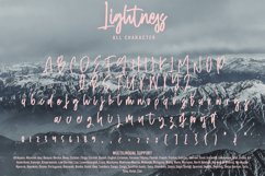 Lightness - Bold Signature Font Product Image 4