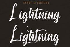 Lightning - Hand Draw Brush Font Product Image 3