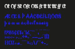Stepford serif font Product Image 4