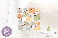 Pumpkin Pattern, Fall Pumpkin Sign Product Image 2