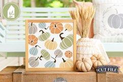Pumpkin Pattern, Fall Pumpkin Sign Product Image 3