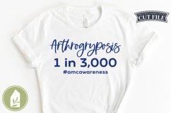 Arthrogryposis SVG, Diversity, Disability Awareness Product Image 1