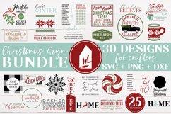 Christmas Sign Bundle, Christmas SVG Bundle, Christmas SVG Product Image 1