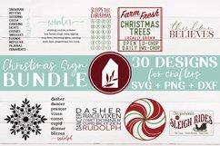 Christmas Sign Bundle, Christmas SVG Bundle, Christmas SVG Product Image 4