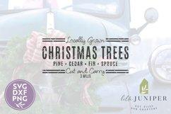 Christmas Trees, Christmas SVG, Grain Sack, Cut and Carry Product Image 2