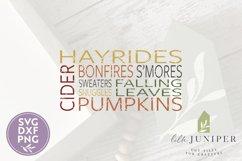 Fall Fun Sign, Farmhouse SVG, Fall SVG Product Image 2