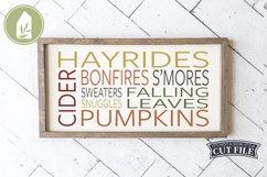 Fall Fun Sign, Farmhouse SVG, Fall SVG Product Image 1