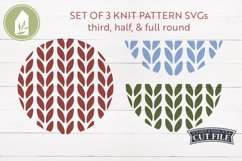 Sweater Pattern SVG, Round Sign SVG, Winter, Christmas SVG Product Image 1