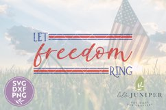 Patriotic Signs, Let Freedom Ring SVG, 4th of July SVG Product Image 2