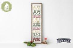 Christmas Porch Sign, Christian SVG, Christmas SVG Product Image 3