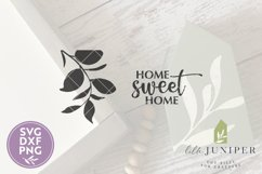 Home Sweet Home, Home Sweet Home SVG, Farmhouse Sign SVG Product Image 2