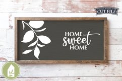 Home Sweet Home, Home Sweet Home SVG, Farmhouse Sign SVG Product Image 1