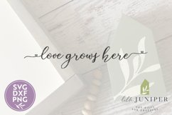 Love Grows Here SVG, Farmhouse SVG Product Image 2