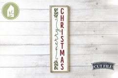 Vertical Christmas Sign Bundle of 8 Designs Product Image 6