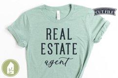 Real Estate Agent SVG, Real Estate Shirt SVG Product Image 1