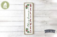 Vertical Christmas Sign Bundle of 8 Designs Product Image 4