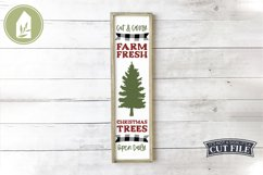 Vertical Christmas Sign Bundle of 8 Designs Product Image 2