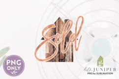 Sublimation Files, Sold House PNG, Real Estate PNG Product Image 2