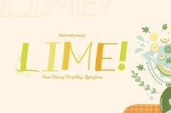 Web Font LIME Product Image 1