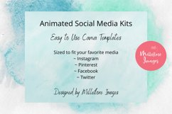 Animated Social Media Kit Canva Templates for Bloggers Product Image 3