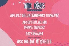 Little Kisses - Playful Display Font Product Image 4