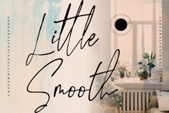 Little Smooth - A Handwritten Signature Font Product Image 1