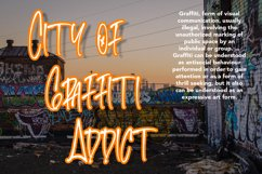 Livelong - Graffiti Display Font Product Image 3