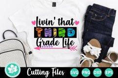 Back to School SVG | 3rd Grade SVG | Third Grade Life Product Image 1