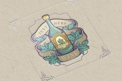 Winery Bottle Badge Vintage Label Logo Product Image 6