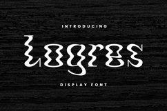 Web Font Logres Product Image 1