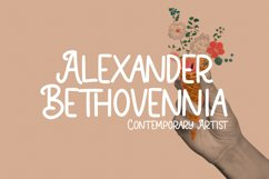Loktherns Handwritten Display Font Product Image 3