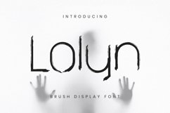 Web Font Lolyn Product Image 1