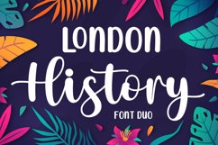 London History - Font Duo Product Image 1