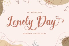 Lonely Day Product Image 1