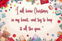 Lorgnette - Christmas Handwritten Font Product Image 4